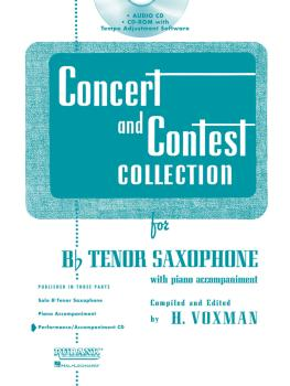 Concert and Contest Collection for Bb Tenor Saxophone (Accompaniment C (HL-04002515)