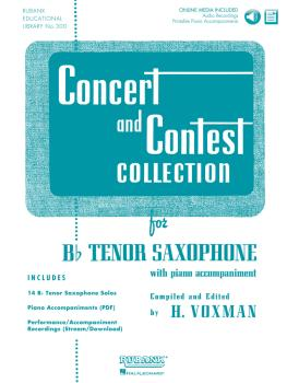 Concert and Contest Collection for Bb Tenor Saxophone (Solo Part w/CD) (HL-04002516)
