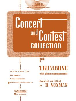 Concert and Contest Collection for Trombone (Accompaniment CD) (HL-04002521)