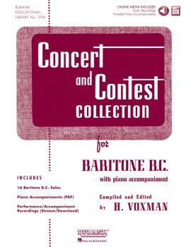 Concert and Contest Collection: Solo Part w/CD - Baritone B.C. (HL-04470007)