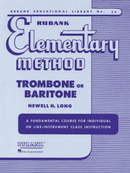 Rubank Elementary Method - Trombone or Baritone (HL-04470020)