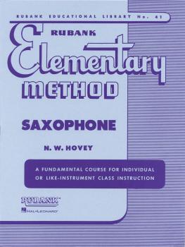 Rubank Elementary Method - Saxophone (HL-04470030)