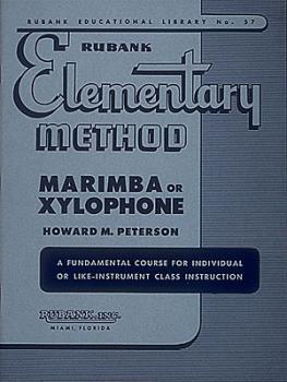 Rubank Elementary Method - Marimba or Xylophone (HL-04470100)