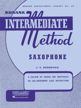 Rubank Intermediate Method - Saxophone (HL-04470200)