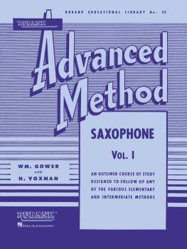 Rubank Advanced Method - Saxophone Vol. 1 (HL-04470370)