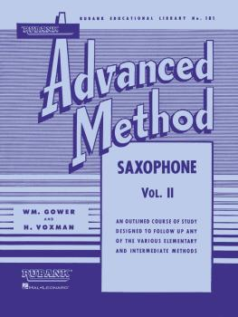 Rubank Advanced Method - Saxophone Vol. 2 (HL-04470380)