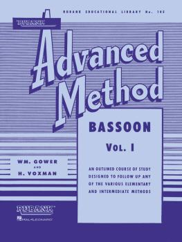 Rubank Advanced Method - Bassoon Vol. 1 (HL-04470430)
