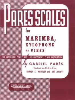 Pares Scales: Marimba, Xylophone or Vibes (HL-04470590)
