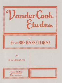 Vandercook Etudes for Bass/Tuba (B.C.) (HL-04470830)
