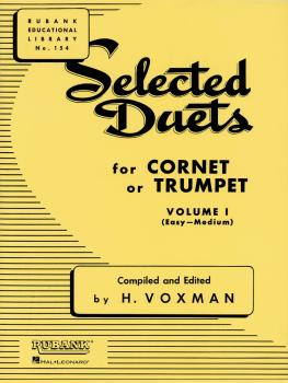 Selected Duets for Cornet or Trumpet: Volume 1 - Easy to Medium (HL-04470980)