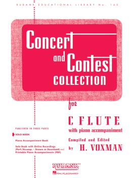 Concert and Contest Collection for C Flute (Solo Part) (HL-04471610)