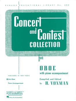 Concert and Contest Collection for Oboe (Solo Part) (HL-04471670)