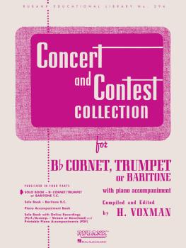 Concert and Contest Collection: Solo Part - Bb Cornet, Trumpet or Bari (HL-04471730)
