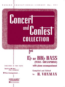 Concert and Contest Collection for Bass/Tuba (B.C.) (Piano Accompanime (HL-04471820)