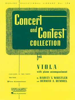 Concert and Contest Collection for Viola (Piano Accompaniment) (HL-04471840)