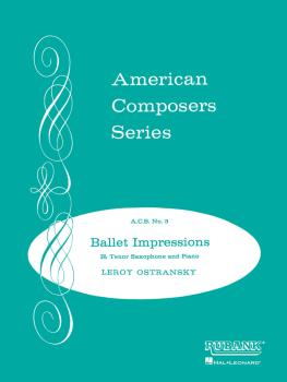Ballet Impressions: Tenor Saxophone Solo with Piano - Grade 5 (HL-04471850)
