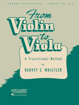 From Violin to Viola: A Transitional Method (HL-04472770)