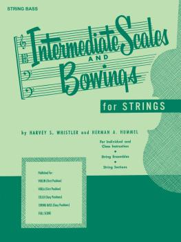 Intermediate Scales And Bowings - String Bass (HL-04473340)