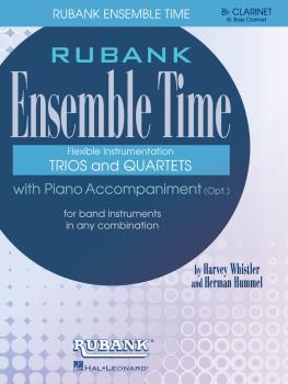 Ensemble Time - B Flat Clarinets (Bass Clarinet) (for Instrumental Tri (HL-04474650)