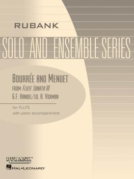 Bourrée and Menuet (from Flute Sonata III): Flute Solo with Piano - Gr (HL-04476674)