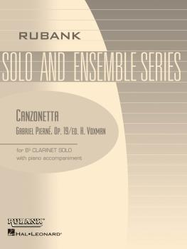 Canzonetta, Op. 19: Bb Clarinet Solo with Piano - Grade 4 (HL-04476755)