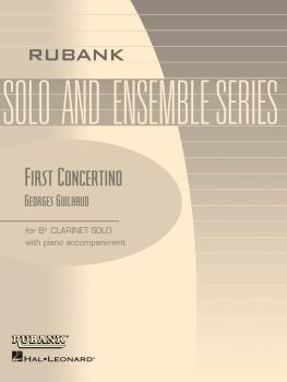 First Concertino: Bb Clarinet Solo with Piano - Grade 4.5 (HL-04476772)