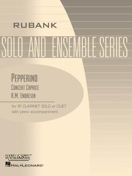 Pepperino (Concert Caprice): Bb Clarinet Solo/Duet with Piano - Grade  (HL-04476840)