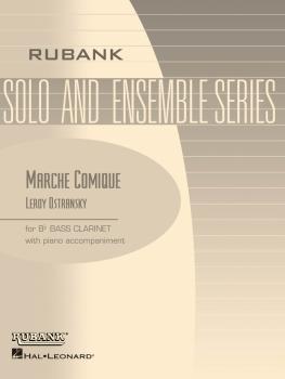 Marche Comique: Bb Bass Clarinet Solo with Piano - Grade 3 (HL-04476891)