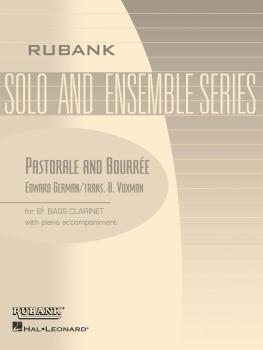 Pastorale and Bourrée: Bb Bass Clarinet Solo with Piano - Grade 4 (HL-04476893)