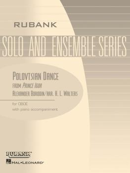 Polovtsian Dance (from Prince Igor): Oboe Solo with Piano - Grade 3.5 (HL-04476921)