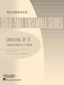 Concertino, Op. 12: Bassoon Solo with Piano - Grade 4 (HL-04476930)