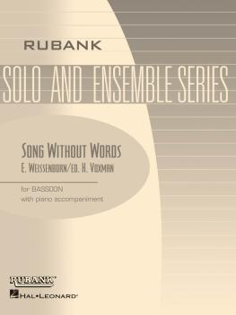 Song Without Words, Op. 226: Bassoon Solo with Piano - Grade 2.5 (HL-04476939)