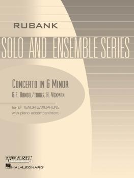 Concerto in G minor: Tenor Saxophone Solo with Piano - Grade 4 (HL-04477528)