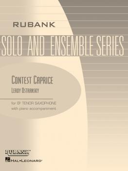 Contest Caprice: Tenor Saxophone Solo with Piano - Grade 3.5 (TS4017)