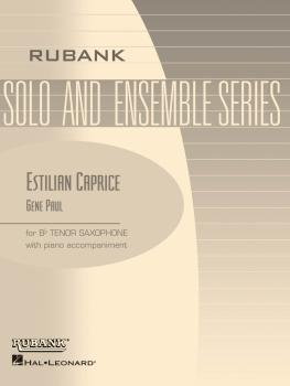 Estilian Caprice: Tenor Saxophone Solo with Piano - Grade 4 (HL-04477532)