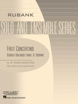 First Concertino: Tenor Saxophone with Piano - Grade 4.5 (HL-04477534)