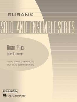 Night Piece: Tenor Saxophone Solo with Piano - Grade 2.5 (HL-04477541)
