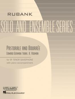 Pastorale and Bourreé: Tenor Saxophone Solo with Piano - Grade 3.5 (HL-04477543)