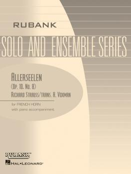 Allerseelen (Op. 10, No. 8): French Horn Solo with Piano - Grade 2.5 (HL-04477710)