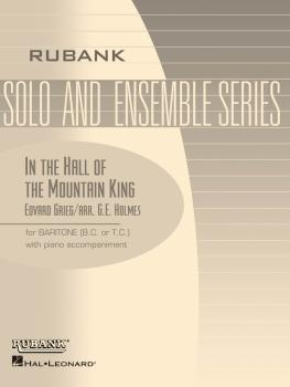 In the Hall of the Mountain King: Baritone Solo B.C. or T.C. with Pian (HL-04477730)
