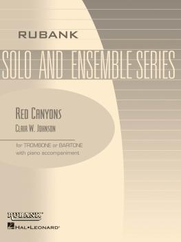Red Canyons: Trombone/Baritone B.C. or T.C. with Piano - Grade 2 (HL-04477745)