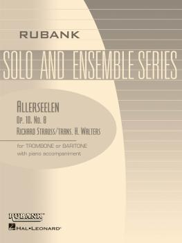 Allerseelen (Op. 10, No. 8): Trombone/Baritone B.C. or T.C. with Piano (HL-04477748)