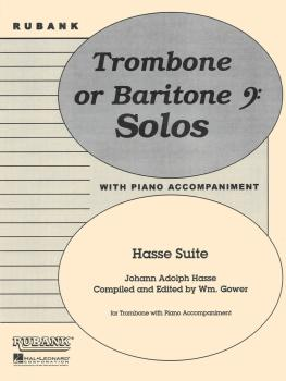 Hasse Suite: Trombone Solo with Piano - Grade 4 (HL-04477760)
