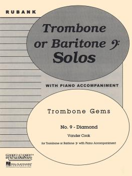Diamond (Trombone Gems No. 9): Trombone Baritone B.C. Solo with Piano  (HL-04479260)