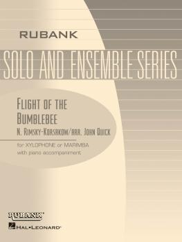 Flight of the Bumble Bee: Xylophone/Marimba Solo with Piano - Grade 4 (HL-04479367)