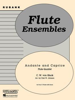 Andante and Caprice: Flute Quartet - Grade 3 (HL-04479500)