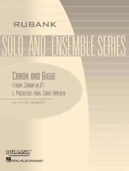 Canon and Gigue: Flute Quartet - Grade 5 (HL-04479504)