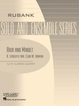 Aria and Minuet: Clarinet Quartet - Grade 2 (HL-04479521)