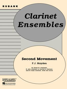 Second Movement from Symphony No. 100 (Military): Clarinet Quintet or  (HL-04479569)
