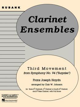 Third Movement from Symph 94 - Surprise: Clarinet Quintet or Choir - G (HL-04479570)